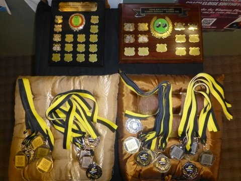 Medals + trophies