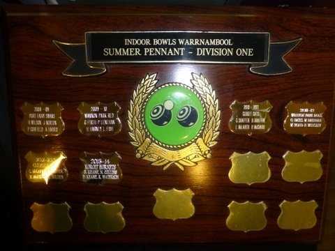 Division 1 Perpetual Trophy