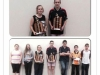 Junior Girls and Boys finalists 2014