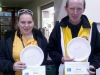Plate winners at Mixed Pairs 2014